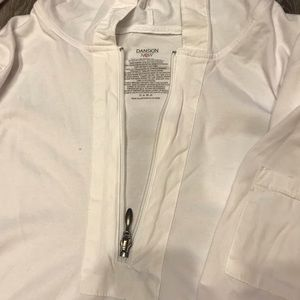 Danskin Now Jackets & Coats - WOMENS SIZE XL WHITE PULLOVER